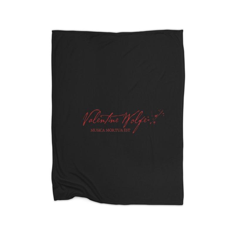 Musica Mortua Est Home Blanket by Valentine Wolfe Artist Shop