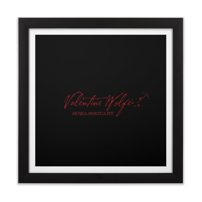 Musica Mortua Est Home Framed Fine Art Print by Valentine Wolfe Artist Shop