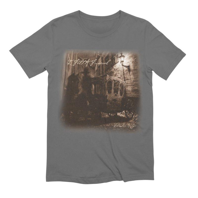 I Felt A Funeral Men's T-Shirt by Valentine Wolfe Artist Shop