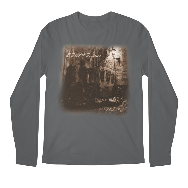 I Felt A Funeral Men's Longsleeve T-Shirt by Valentine Wolfe Artist Shop