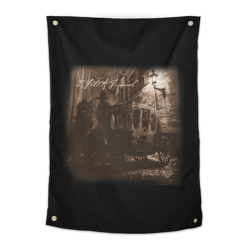 I Felt A Funeral Home Tapestry by Valentine Wolfe Artist Shop