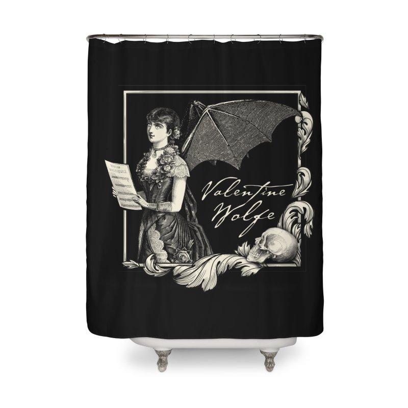 Siren Song Home Shower Curtain by Valentine Wolfe Artist Shop