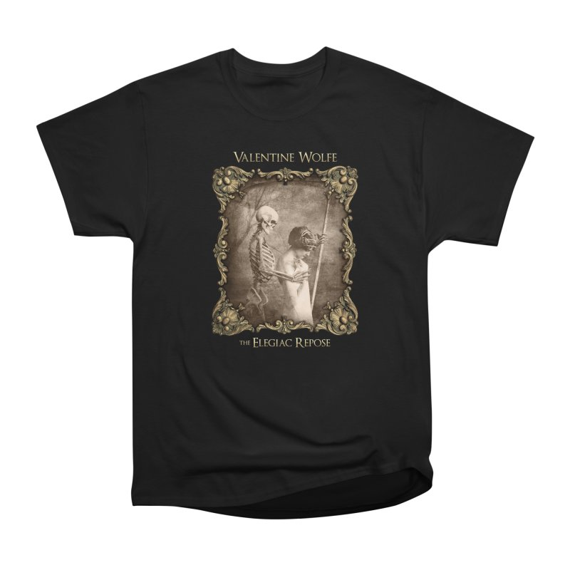 Elegiac Repose Men's T-Shirt by Valentine Wolfe Artist Shop