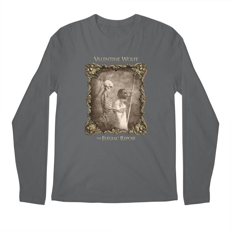 Elegiac Repose Men's Longsleeve T-Shirt by Valentine Wolfe Artist Shop
