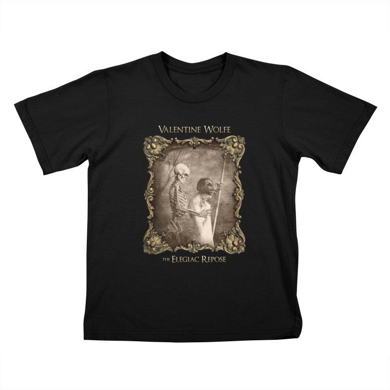 Elegiac Repose Kids T-Shirt by Valentine Wolfe Artist Shop