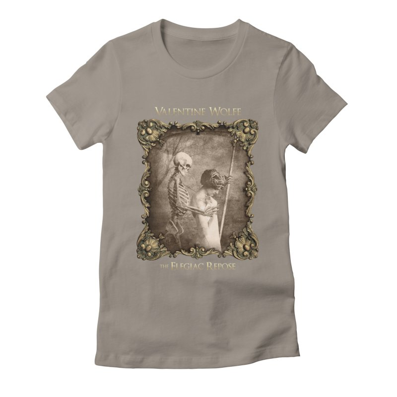Elegiac Repose Women's T-Shirt by Valentine Wolfe Artist Shop