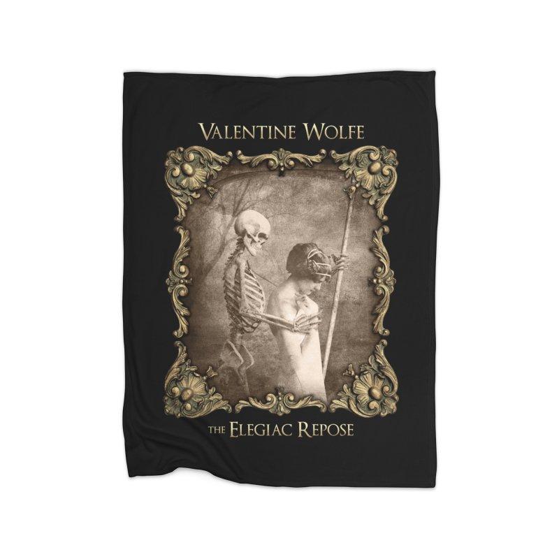 Elegiac Repose Home Blanket by Valentine Wolfe Artist Shop