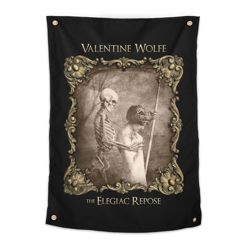 Elegiac Repose Home Tapestry by Valentine Wolfe Artist Shop