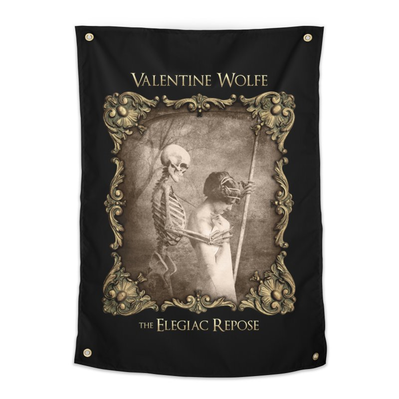 Elegiac Repose Home Tapestry by Valentine Wolfe Artist Shop