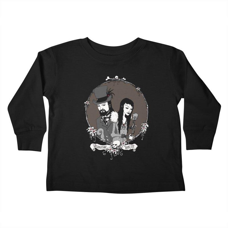 Valentine Wolfe Kids Toddler Longsleeve T-Shirt by Valentine Wolfe Artist Shop