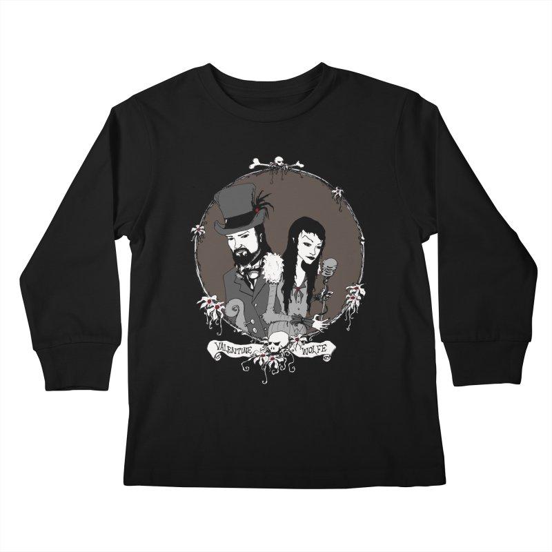 Valentine Wolfe Kids Longsleeve T-Shirt by Valentine Wolfe Artist Shop