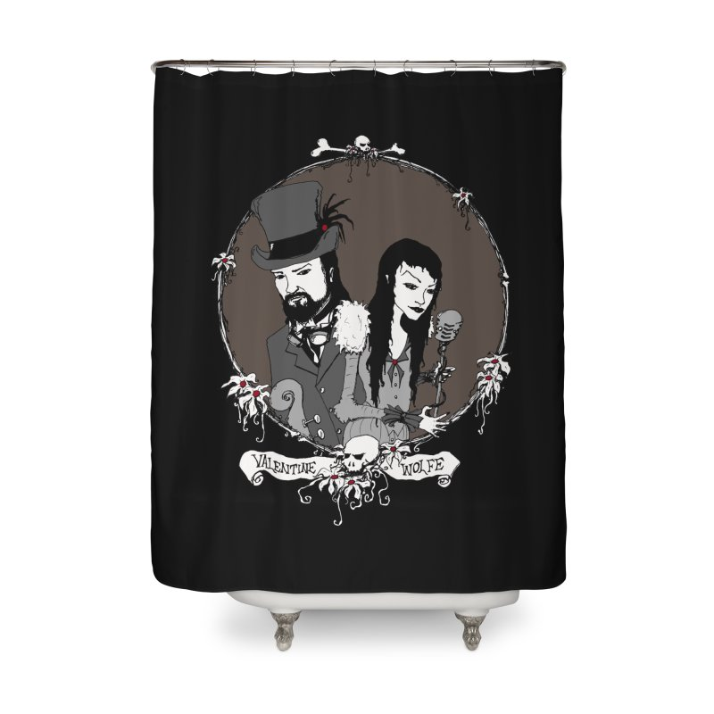 Valentine Wolfe Home Shower Curtain by Valentine Wolfe Artist Shop