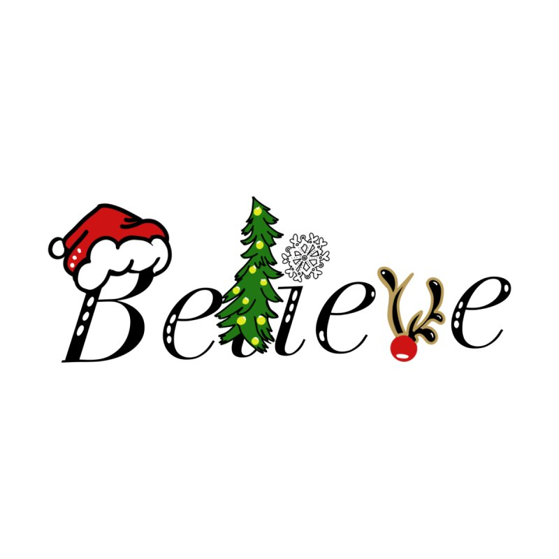 Believe (in Santa) by ValArtist's Shop