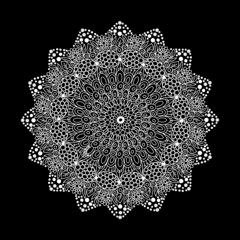 Circles Mandala  by ValArtist's Shop