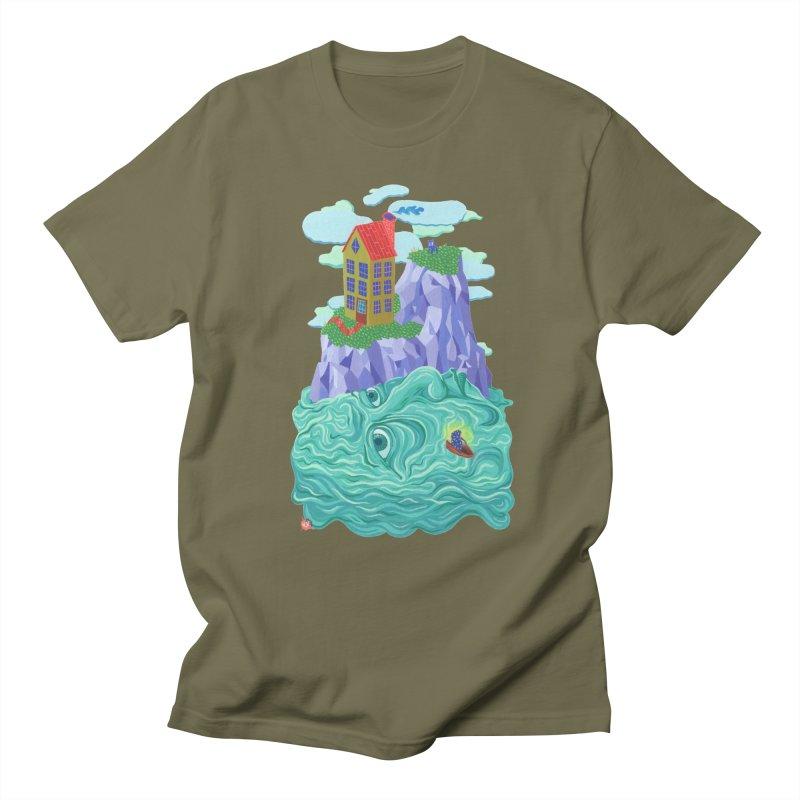 Oceanman Men's Regular T-Shirt by Valeriya Volkova