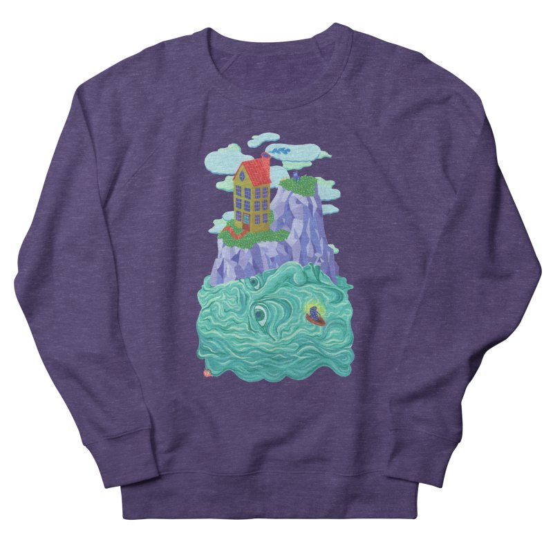 Oceanman Men's French Terry Sweatshirt by Valeriya Volkova