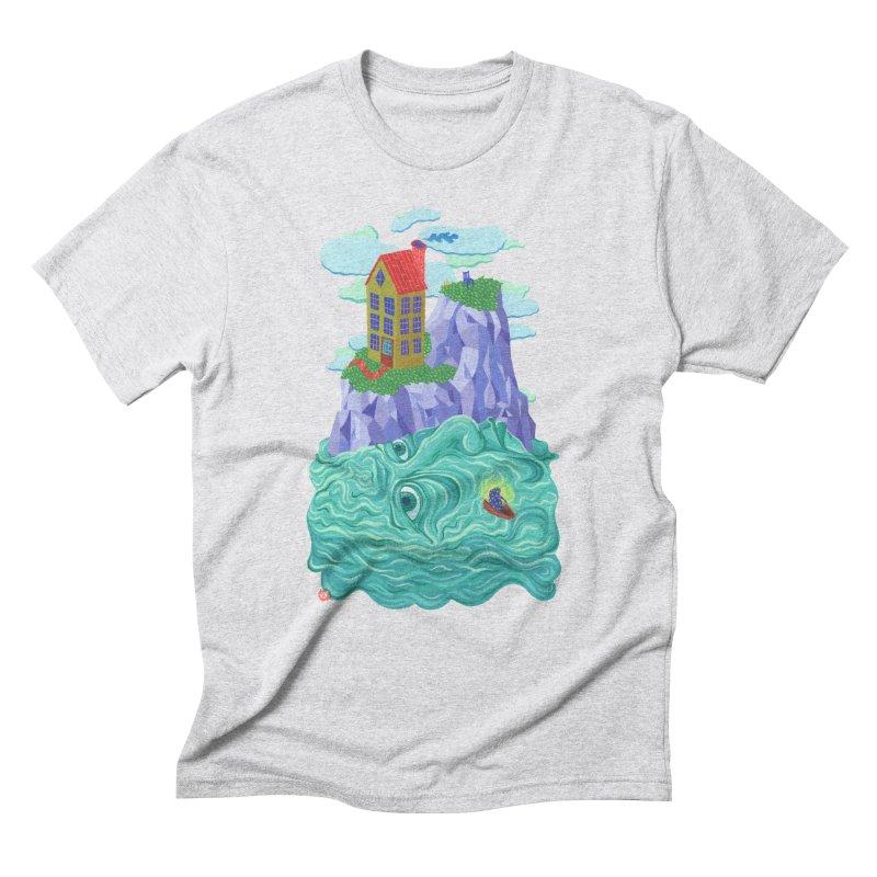 Oceanman Men's Triblend T-Shirt by Valeriya Volkova