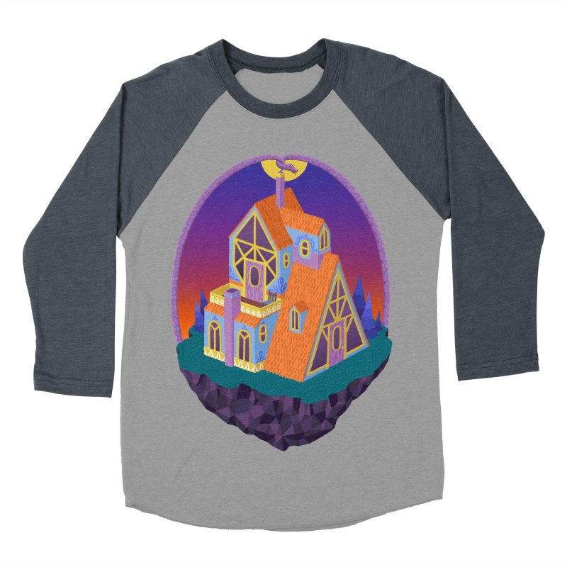 Snake House Women's Baseball Triblend Longsleeve T-Shirt by Valeriya Volkova