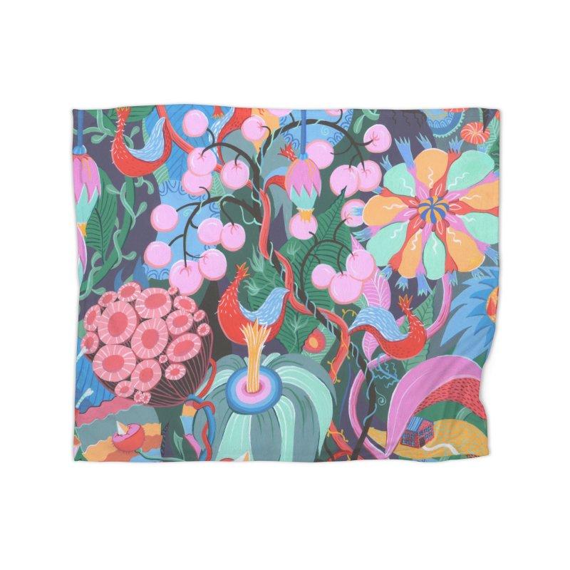Garden Home Blanket by Valeriya Volkova