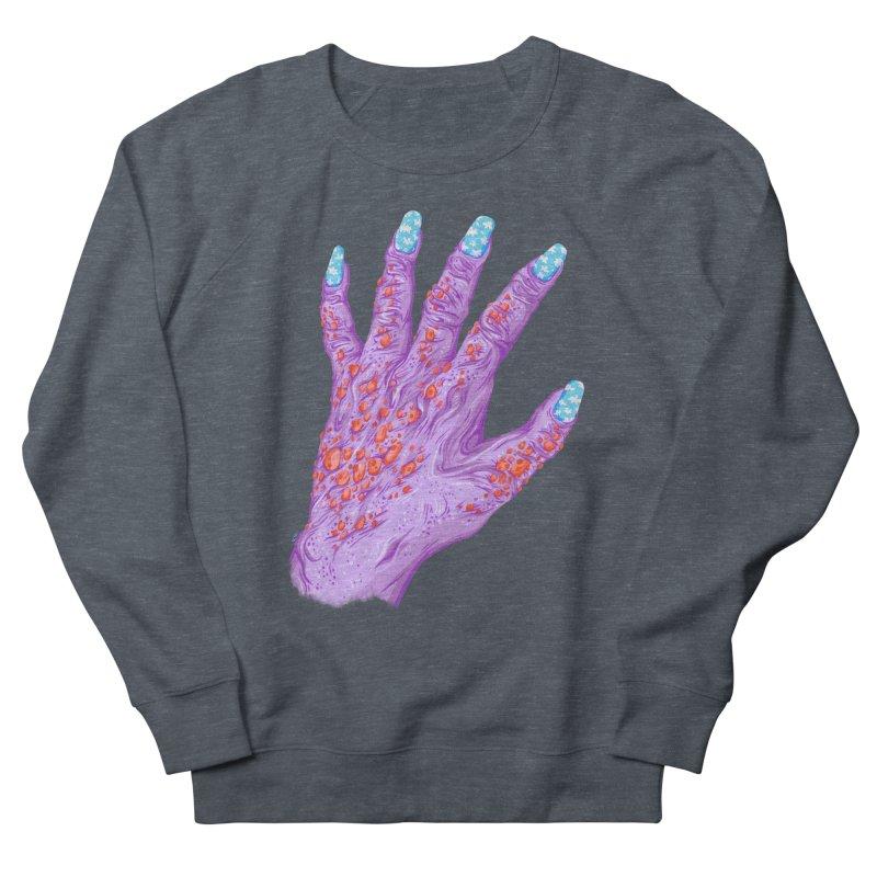 Cloudy Manicure Women's French Terry Sweatshirt by Valeriya Volkova