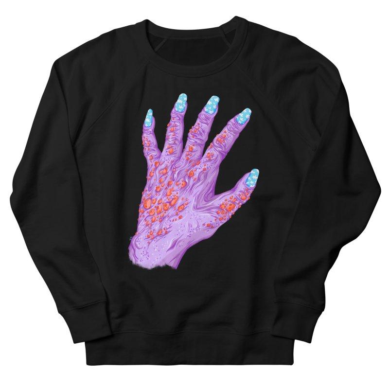 Cloudy Manicure Men's French Terry Sweatshirt by Valeriya Volkova
