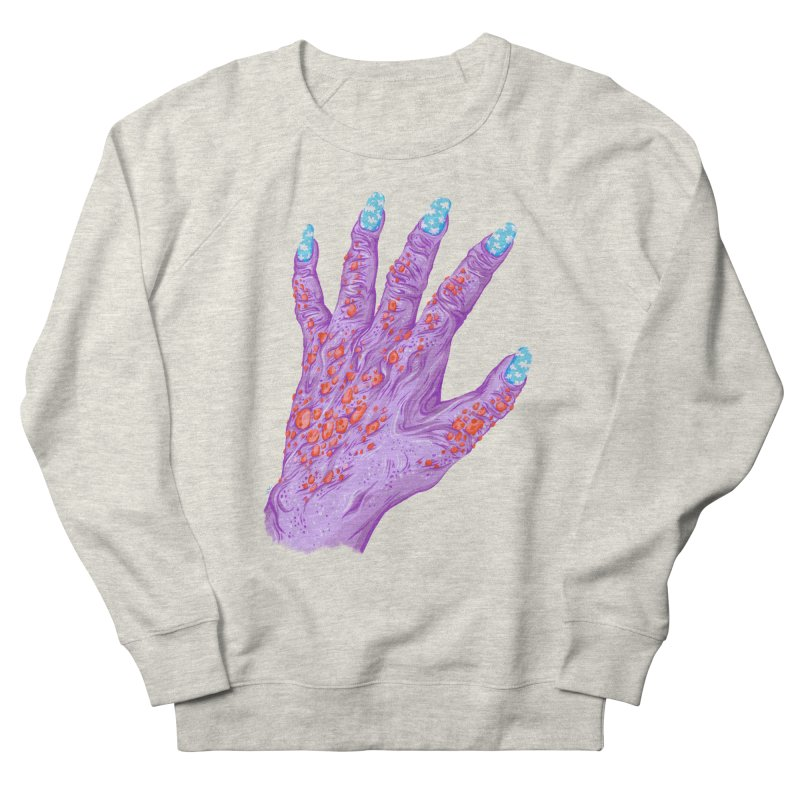 Cloudy Manicure Men's French Terry Sweatshirt by Valeriya Volkova