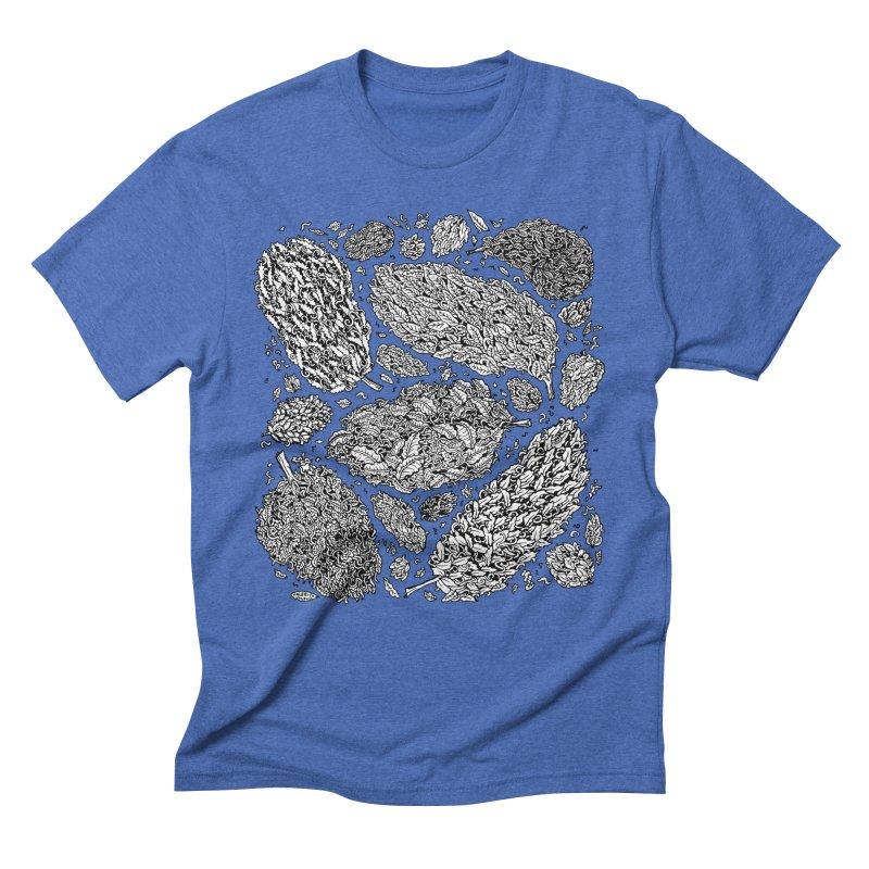 Nugs Men's Triblend T-Shirt by Valeriya Volkova