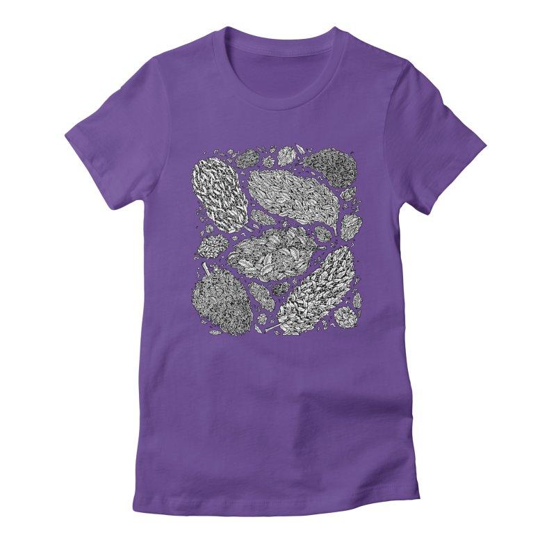 Nugs Women's Fitted T-Shirt by Valeriya Volkova