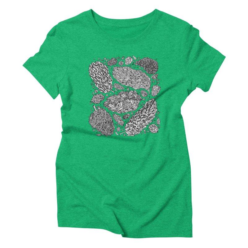 Nugs Women's Triblend T-Shirt by Valeriya Volkova