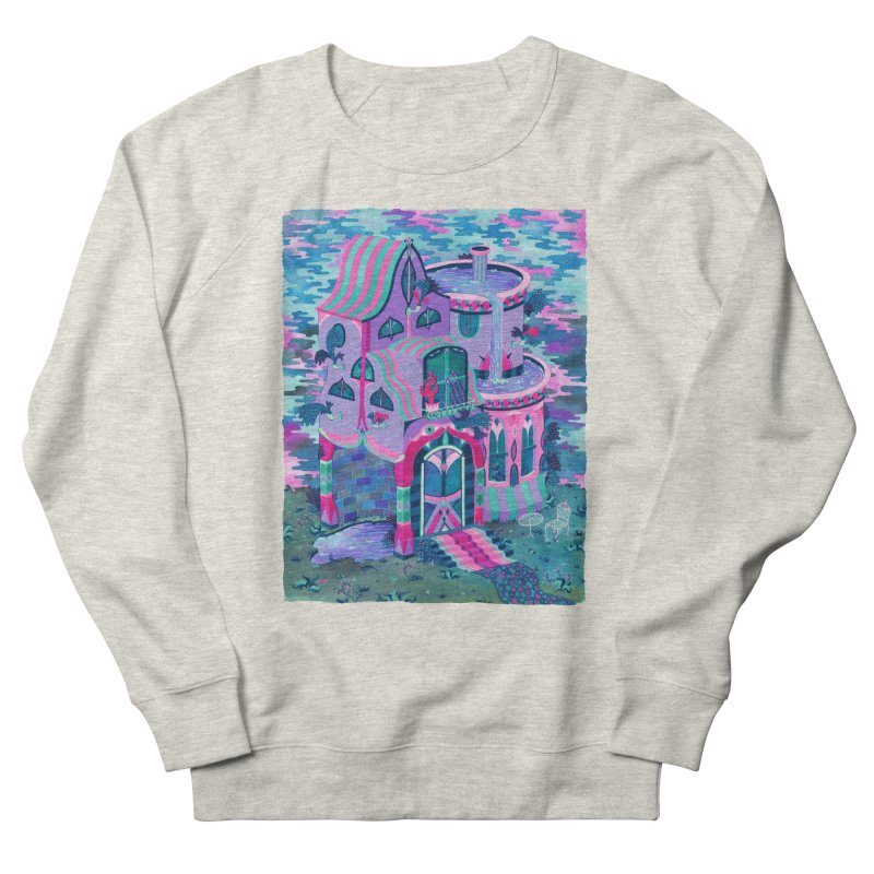 Bertram's House Men's French Terry Sweatshirt by Valeriya Volkova