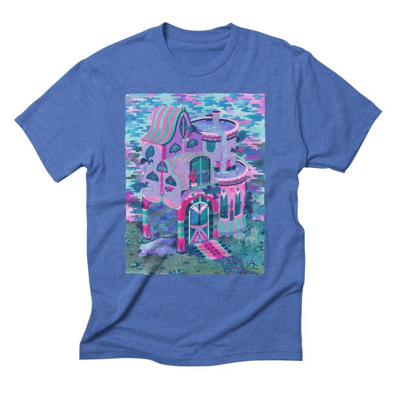 Bertram's House Men's Triblend T-Shirt by Valeriya Volkova