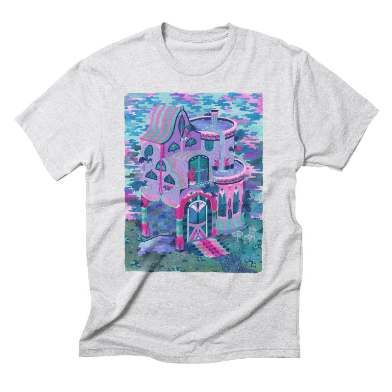 Bertram's House Men's Triblend T-Shirt by Valeriya Volkova