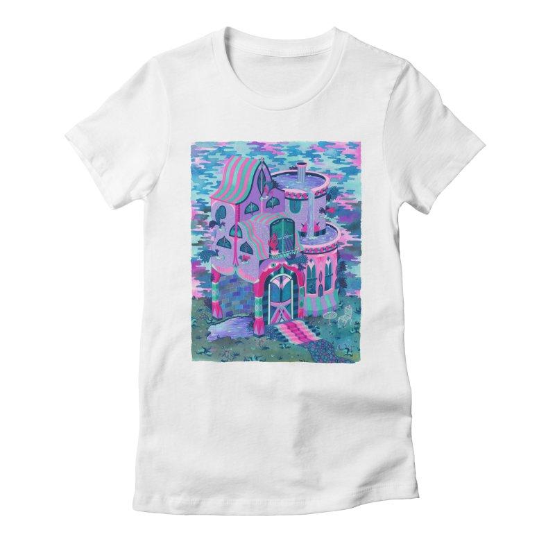Bertram's House Women's Fitted T-Shirt by Valeriya Volkova