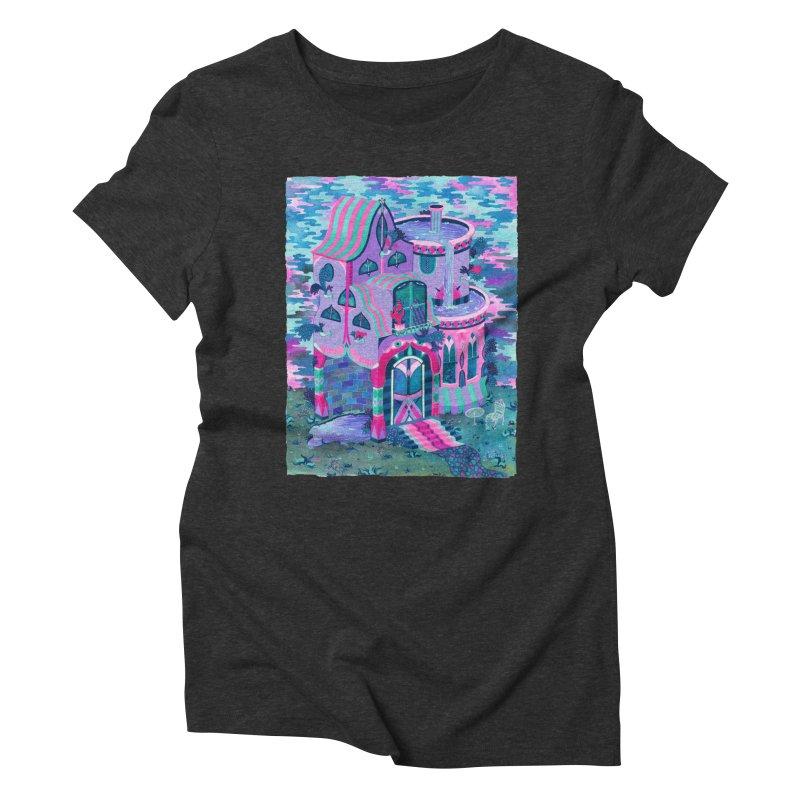 Bertram's House Women's Triblend T-Shirt by Valeriya Volkova