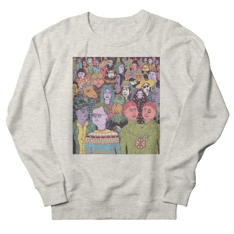 Gathering Men's Sweatshirt by Valeriya Volkova