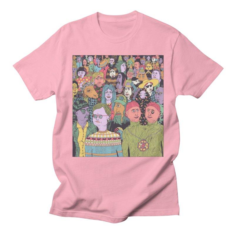 Gathering Men's Regular T-Shirt by Valeriya Volkova