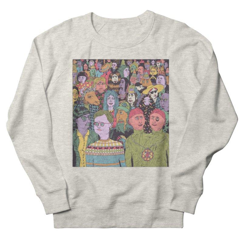 Gathering Men's French Terry Sweatshirt by Valeriya Volkova