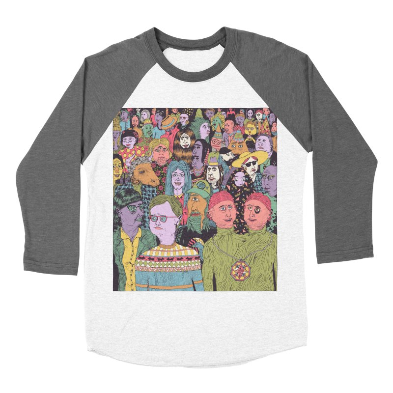 Gathering Women's Baseball Triblend Longsleeve T-Shirt by Valeriya Volkova