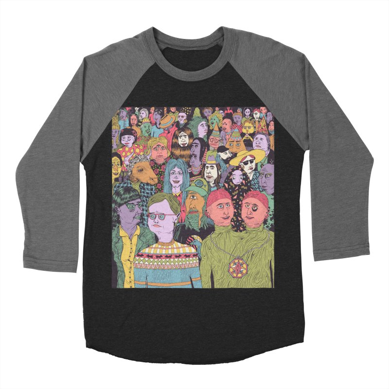 Gathering Men's Baseball Triblend Longsleeve T-Shirt by Valeriya Volkova