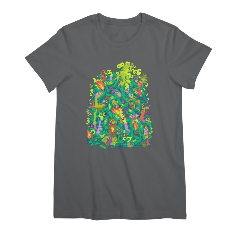 Nug House Women's Premium T-Shirt by Valeriya Volkova