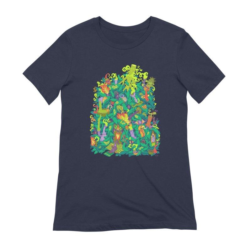 Nug House Women's Extra Soft T-Shirt by Valeriya Volkova