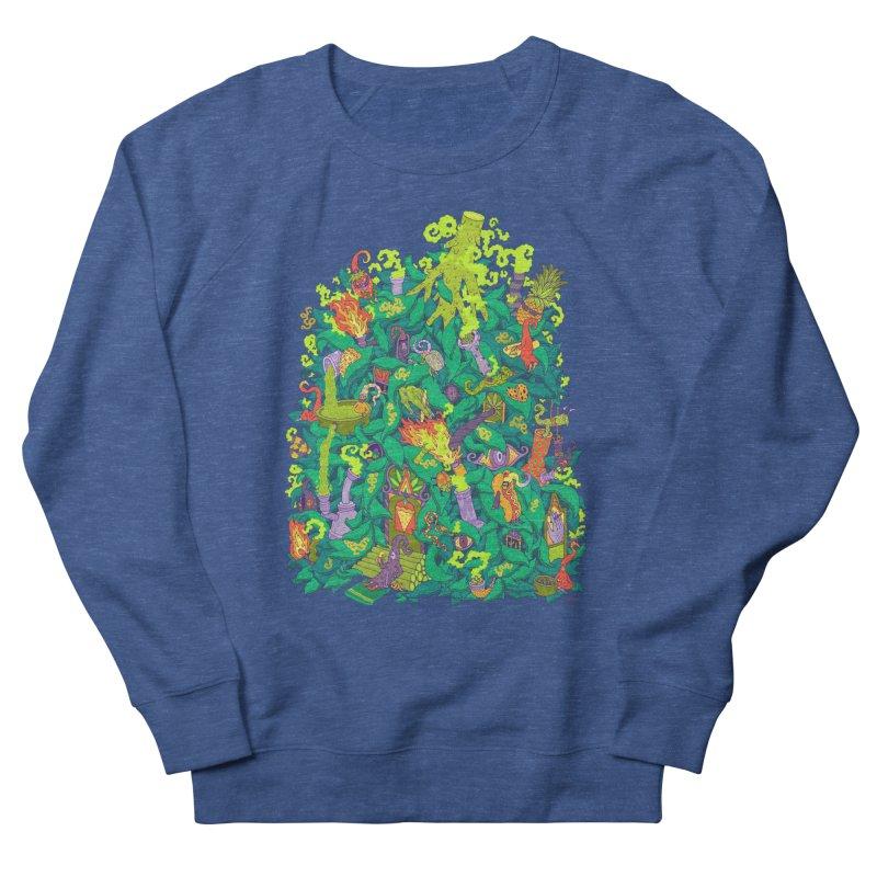 Nug House Women's French Terry Sweatshirt by Valeriya Volkova