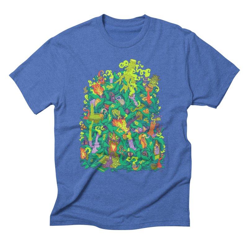 Nug House Men's Triblend T-Shirt by Valeriya Volkova