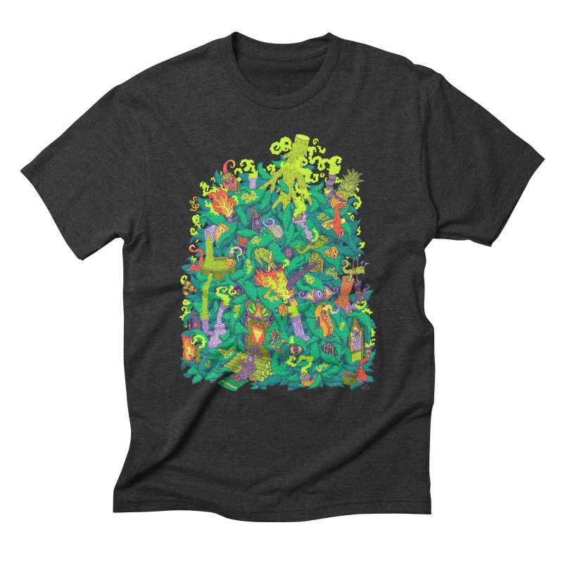 Nug House Men's Triblend T-Shirt by Valeriya Volkova