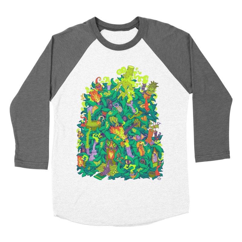 Nug House Women's Baseball Triblend Longsleeve T-Shirt by Valeriya Volkova