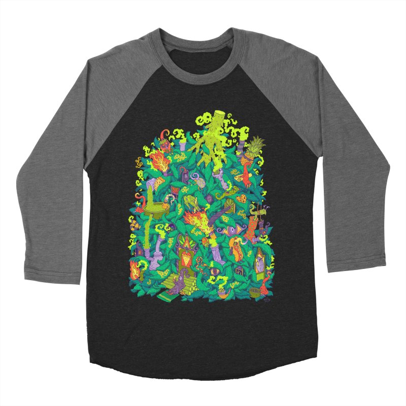 Nug House Men's Baseball Triblend Longsleeve T-Shirt by Valeriya Volkova
