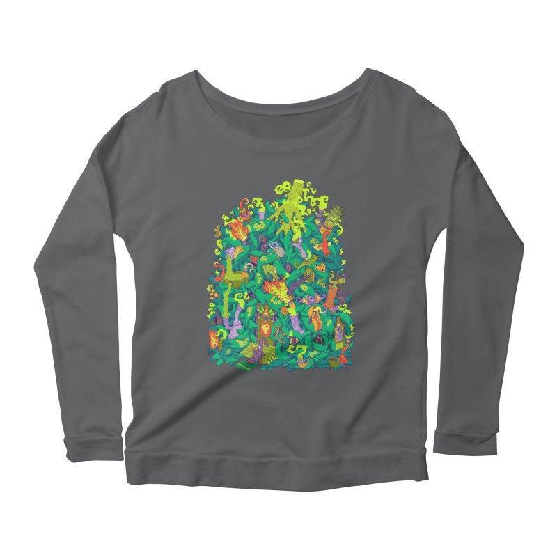 Nug House Women's Scoop Neck Longsleeve T-Shirt by Valeriya Volkova