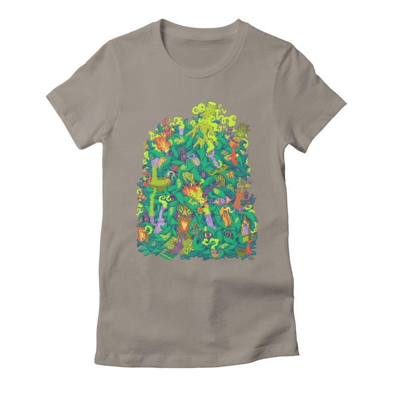Nug House Women's Fitted T-Shirt by Valeriya Volkova