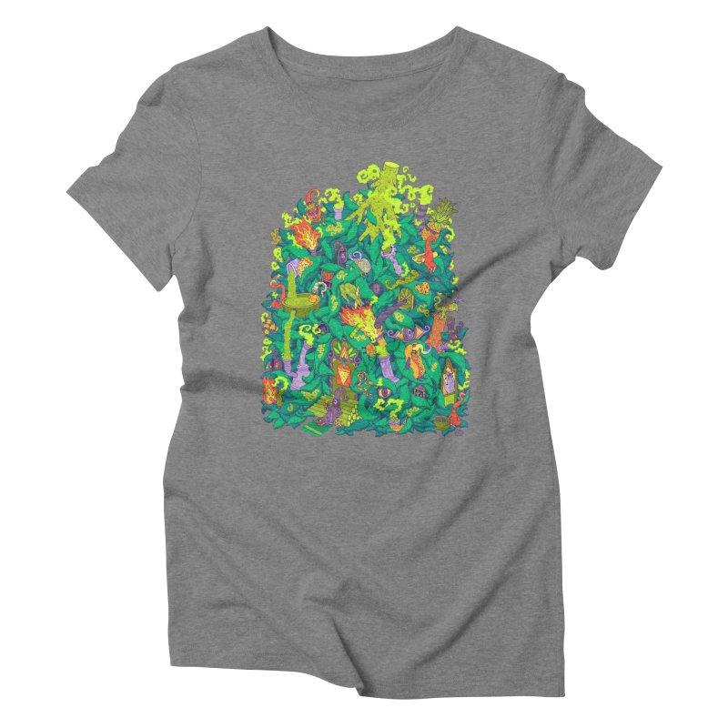 Nug House Women's Triblend T-Shirt by Valeriya Volkova