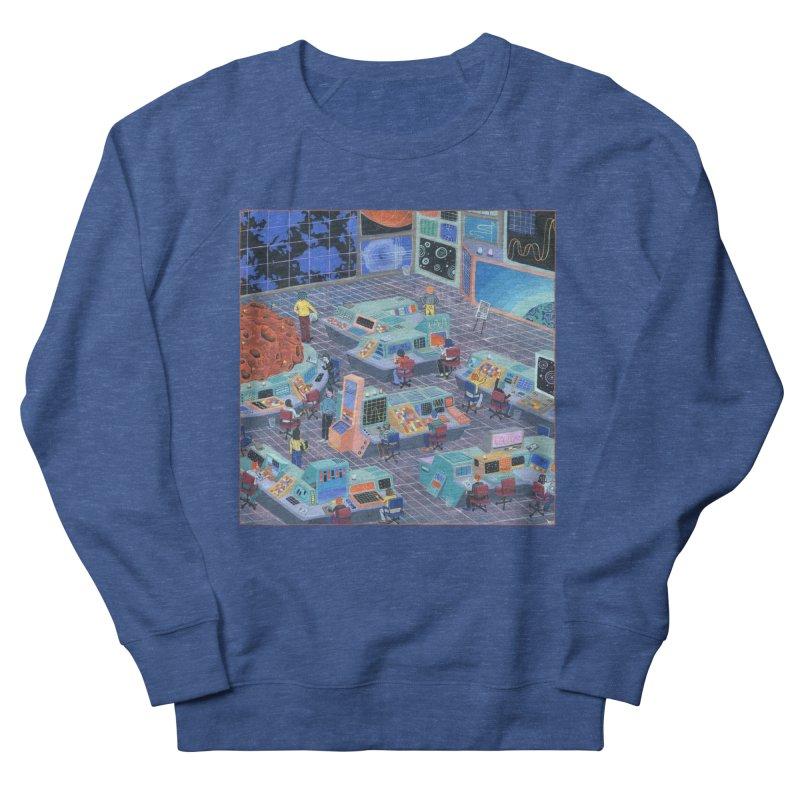 Command Center Men's Sweatshirt by Valeriya Volkova